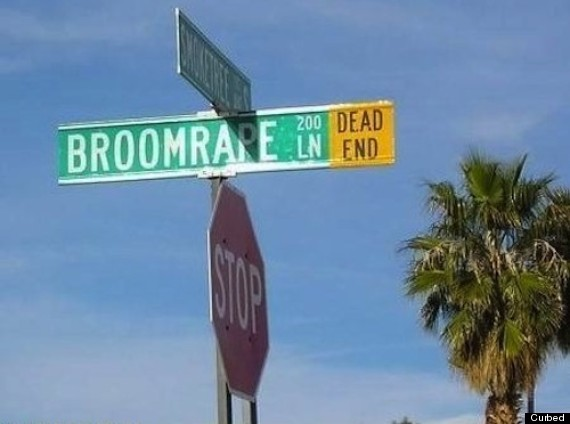 Funny Street Sign Names Worst Street Name Ever...