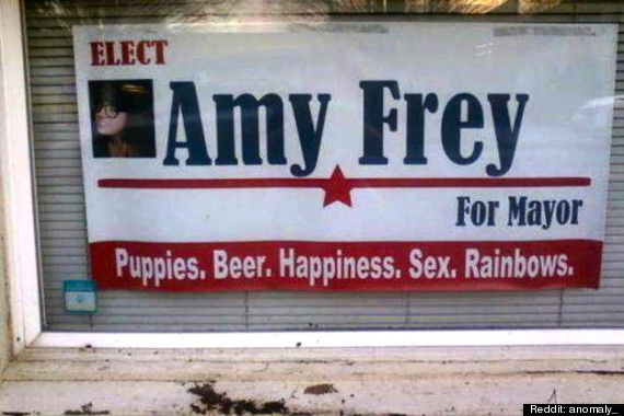 Amy Frey's Campaign Slogan Was The Best: Portland Mayoral Candidate