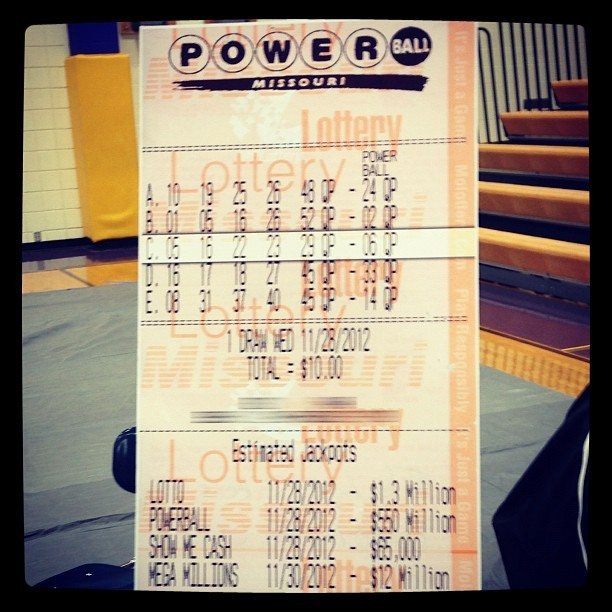 winning lottery ticket numbers