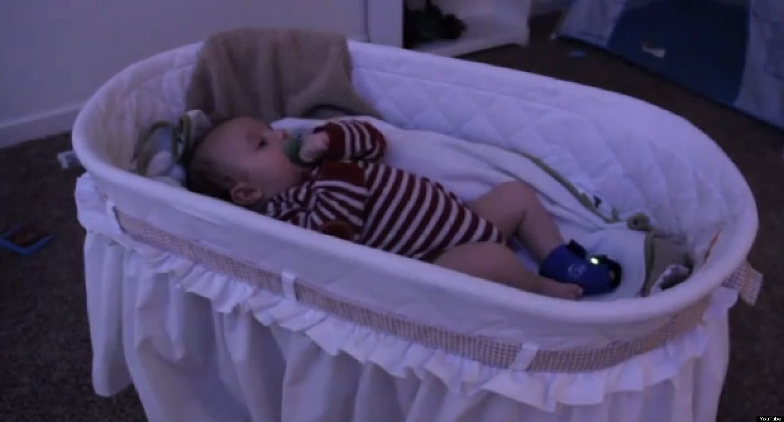 Owlet Baby Monitor Uses A Sock And An App To Tell Parents