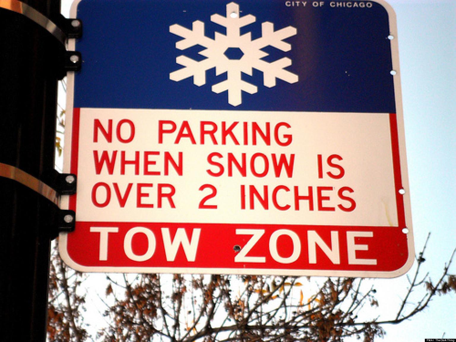 No Snow Sign