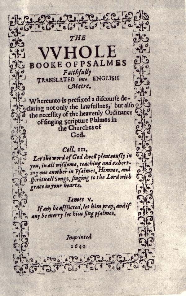 Bay Psalm Book Sale: Old South Church Considers Selling