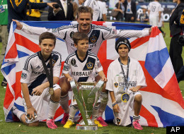 David Beckham Wins MLS Cup In Final Game For LA Galaxy (PICTURES)