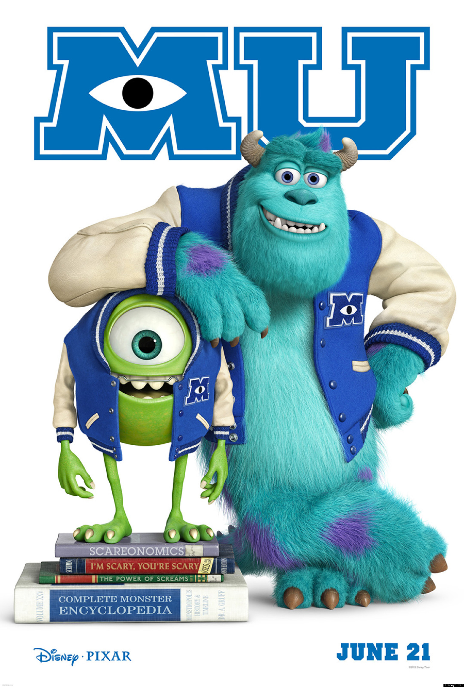 University Style Posters 'monsters University' Poster