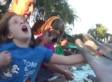 Dolphin Bites Jillian Thomas At SeaWorld (VIDEO)
