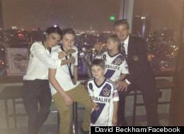 Together Again... But Where Next For The Beckhams?