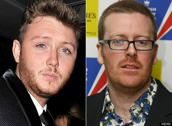 james arthur frankie boyle