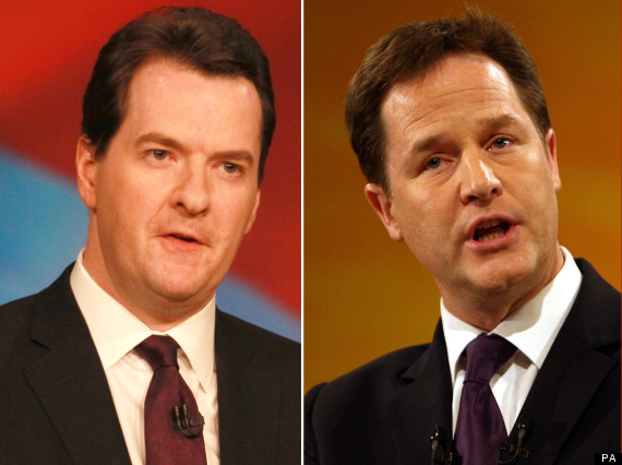 clegg and osborne