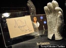 Which Pop Superstar Bought Michael Jackson's Glove?