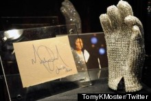 Lady Gaga Bags Michael Jackson's Swarovski Crystal Glove At Auction For $190,000