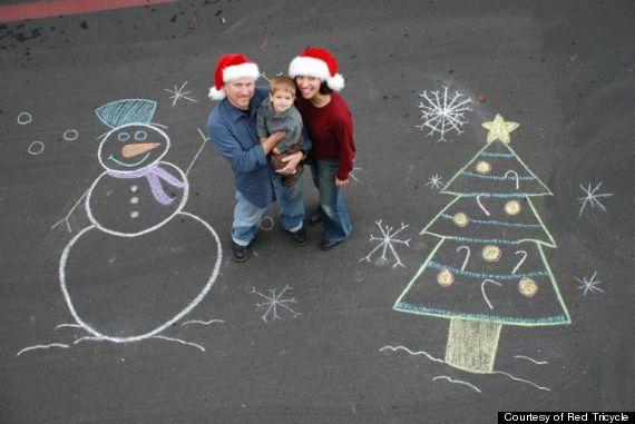 Creative family christmas card photo ideas