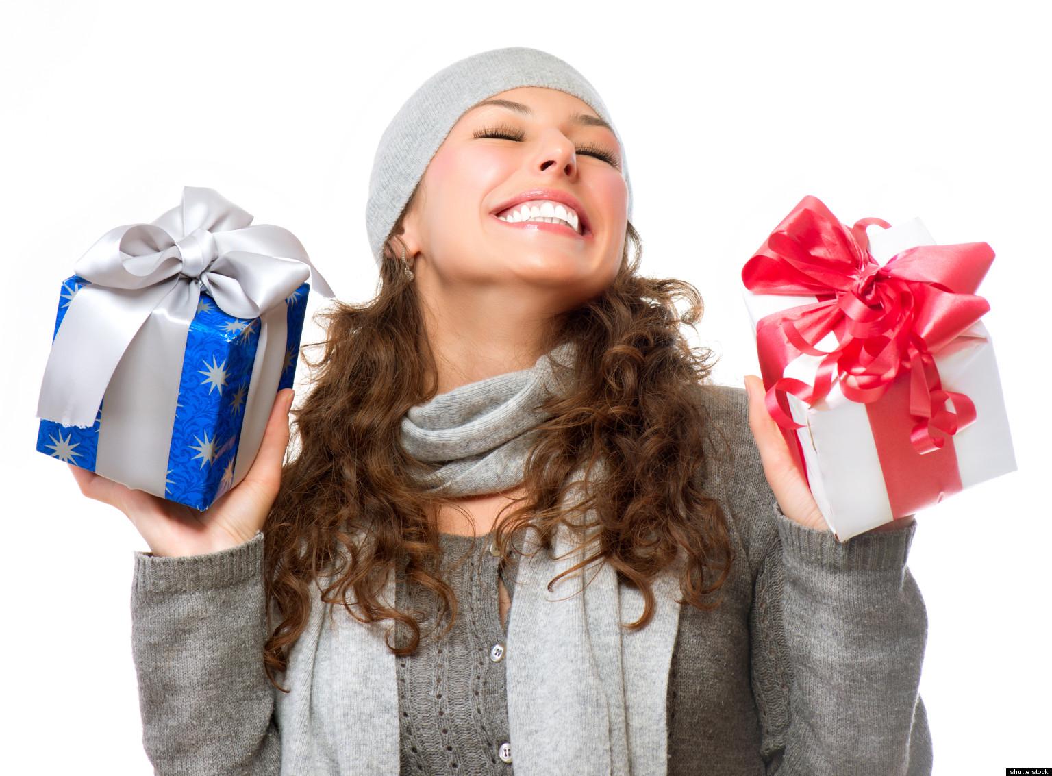 Подарок для девушку на новый год