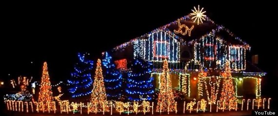 DUBSTEP CHRISTMAS LIGHT SHOW