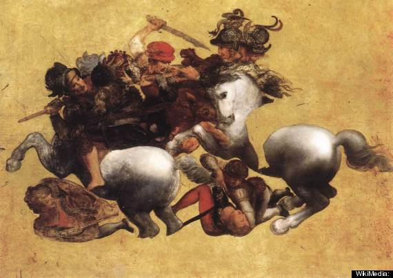 battle of anghiari stolen