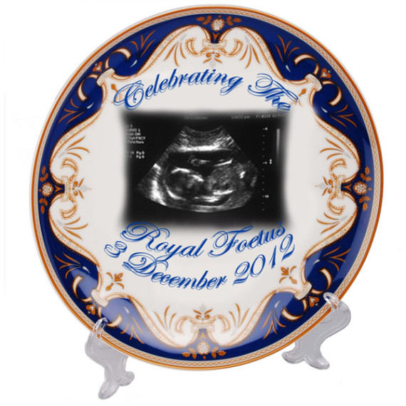 royal baby plate