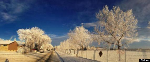 CALGARY BEAUTIFUL SNOW