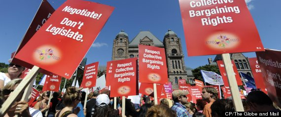 Ontario Teacher Strike