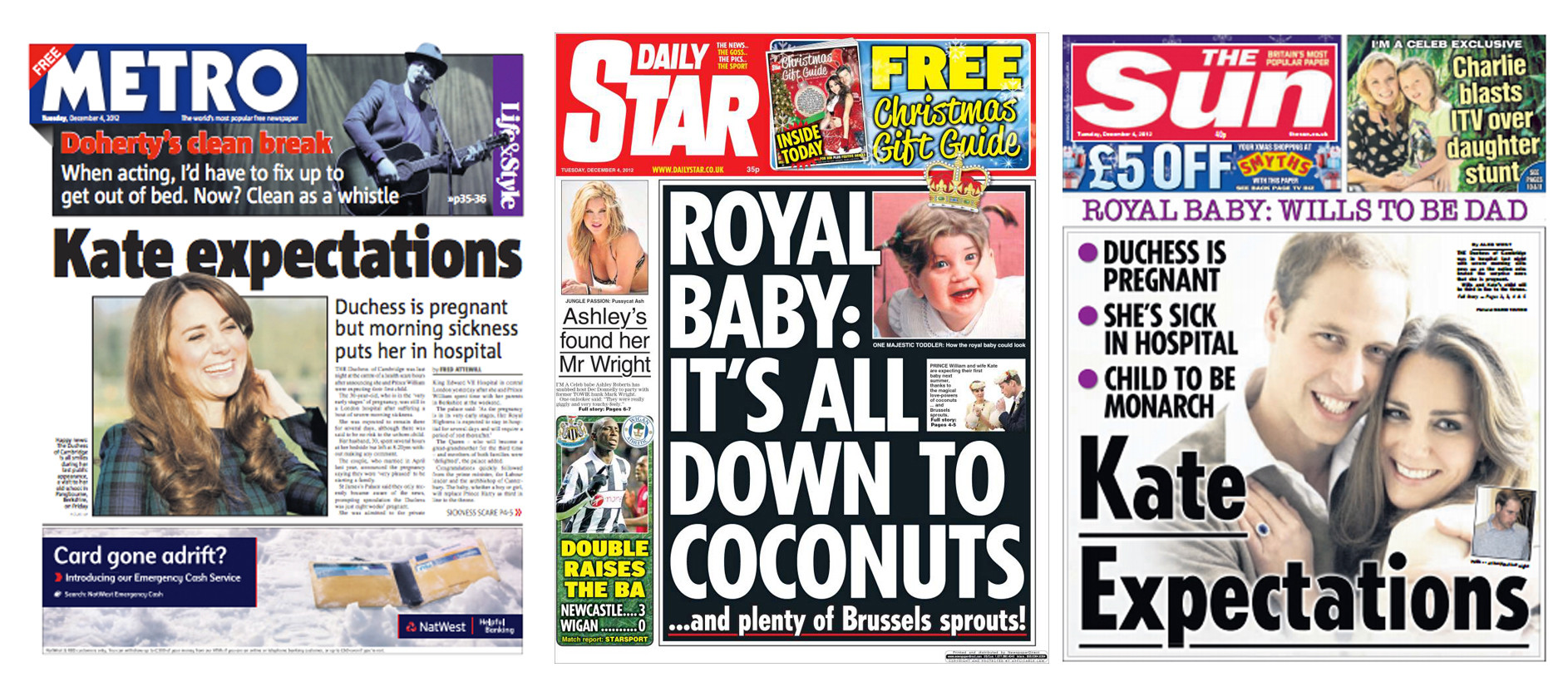 kate duchess pregnant front covers3