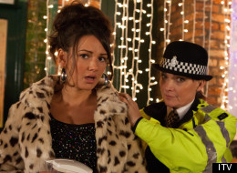 PICTURES: Look Who's On Patrol For The 'Corrie' Christmas Special