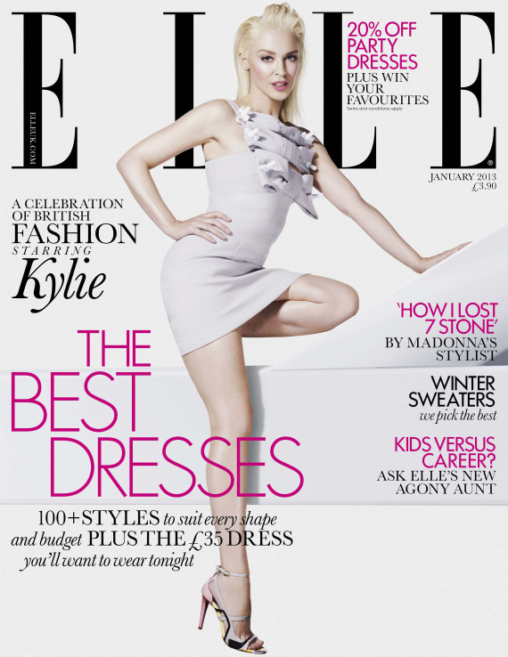 elle uk january 2013 cover