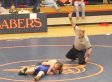 Justin Kievit, Middle School Wrestler, Lets Boy With Cerebral Palsy Win Match (VIDEO)