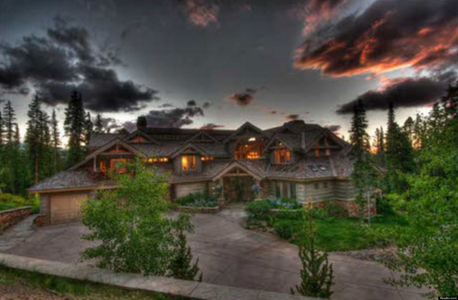 Top 10 luxury colorado homes to have a 39 snow day 39 inside for Top ten home builders