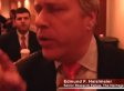 Ed Haislmaier, Heritage Foundation Scholar, Accosts Protester At Fix The Debt Panel