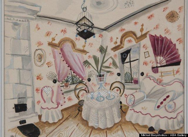 mikhail baryshnikov art collection
