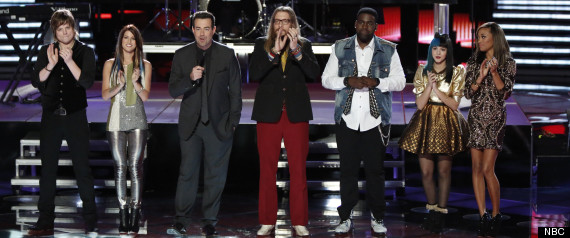 THE VOICE TOP 4