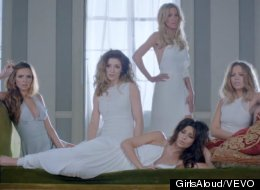 WATCH: Girls Aloud Unveil 'Beautiful Cause You Love Me' Video