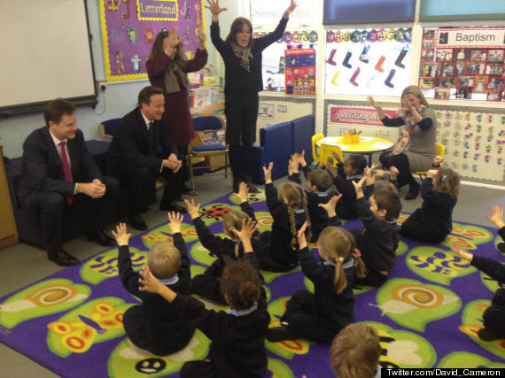 David Cameron Tweets Photo From Primary School, Funny ...