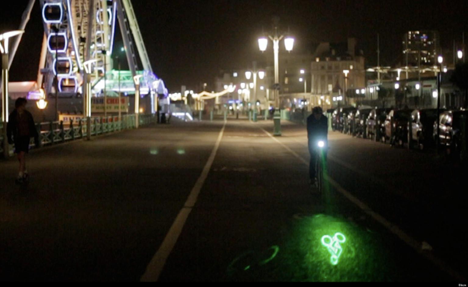 blaze light bike