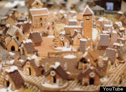 Muji Gingerbread City