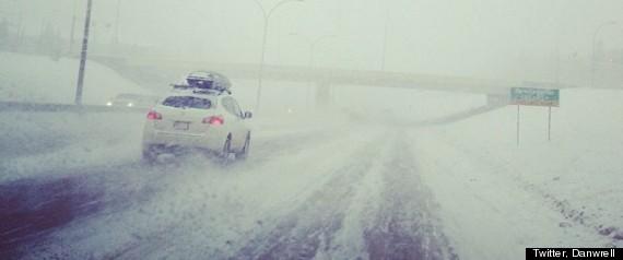 Alberta Snowstorm