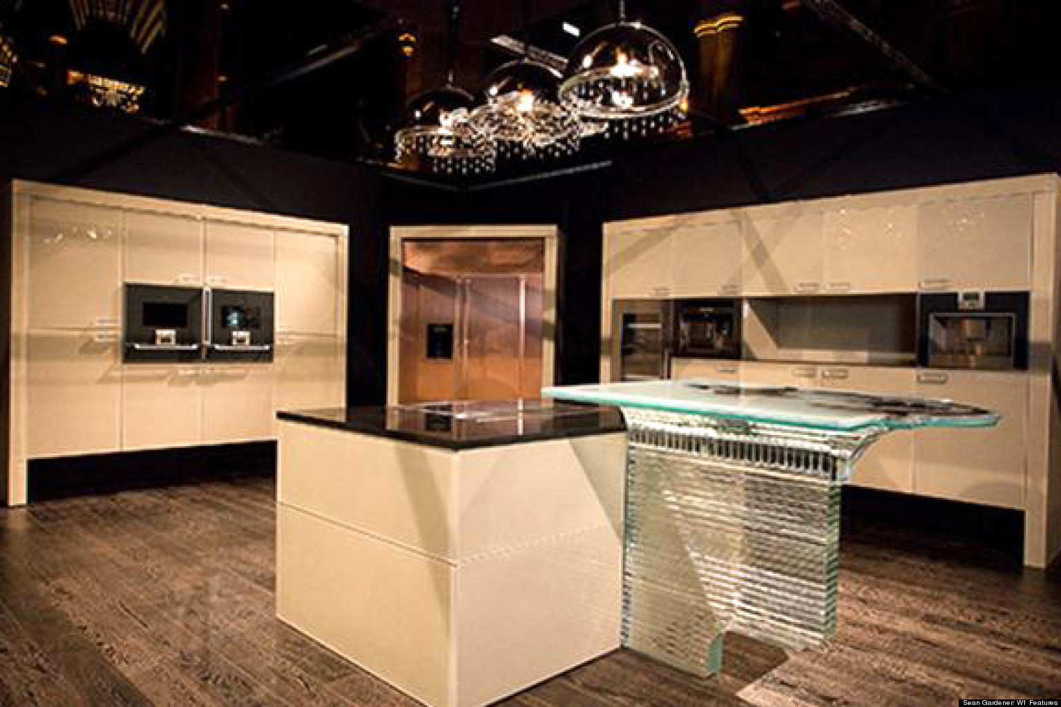 The most expensive kitchen costs 1 6 million photo for Most expensive kitchen cabinets