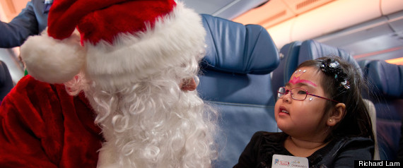SANTA CLAUS FLIGHT