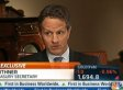 Tim Geithner: Obama 'Absolutely' Prepared To Go Over Fiscal Cliff
