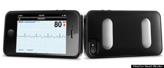 IPHONE CASE EKG MACHINE