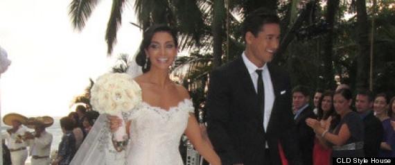 Courtney mazza mario lopez wedding