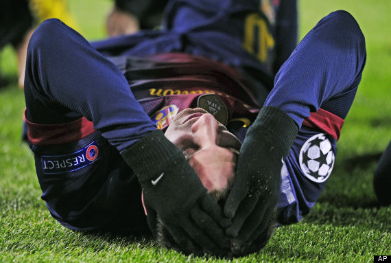 messi injured