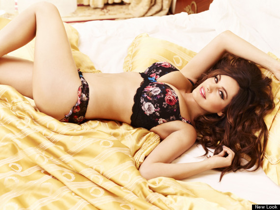 kelly brook lingerie new look