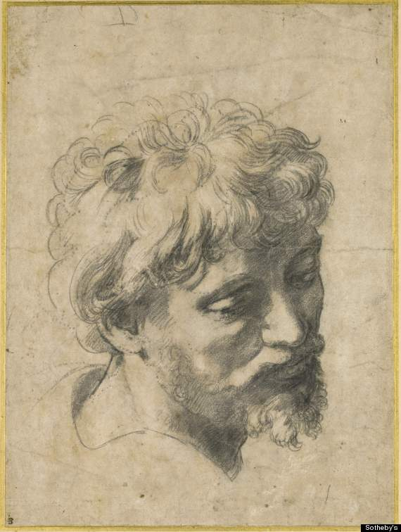 raphael drawing record sale sothebys