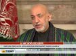 Hamid Karzai: Some Afghanistan Insecurity 'Coming To Us From The Structures That NATO And America Created' (VIDEO)