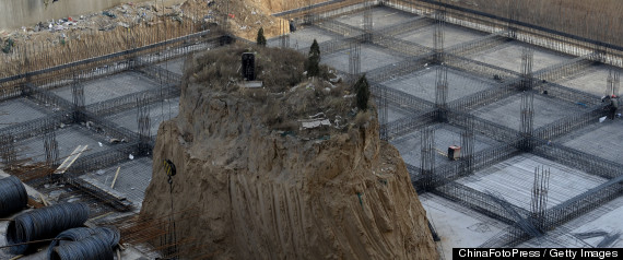 CHINA GRAVES CONSTRUCTION SITE