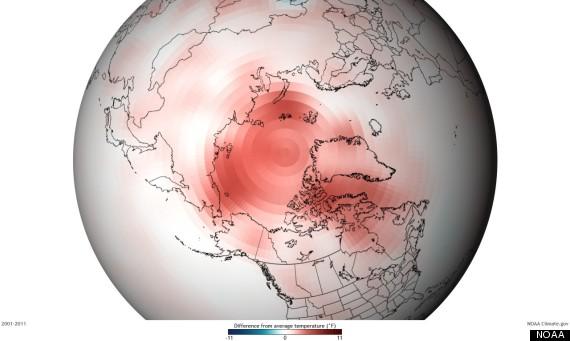 arctic global warming