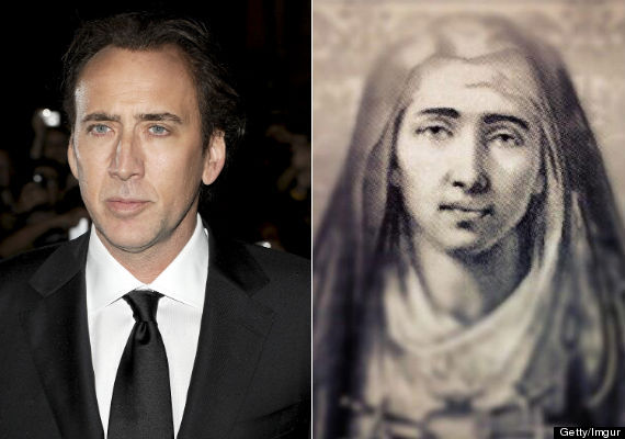 nicolas cage virgin mary