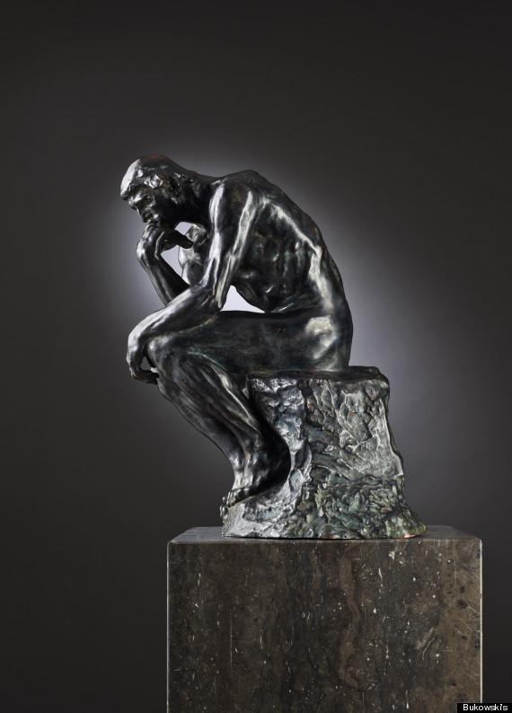small rodin sculpture