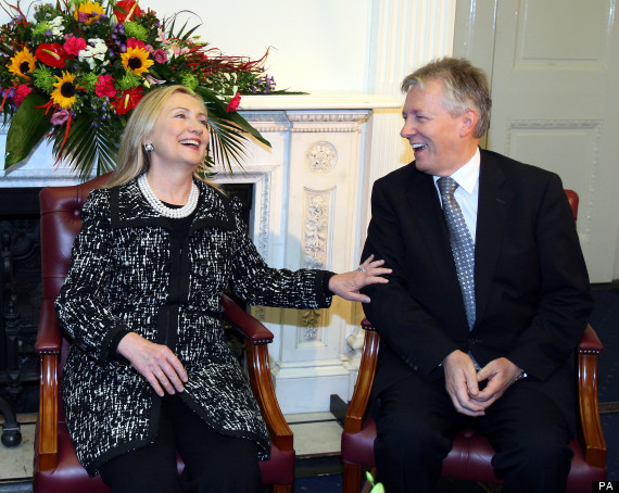 hillary clinton in belfast