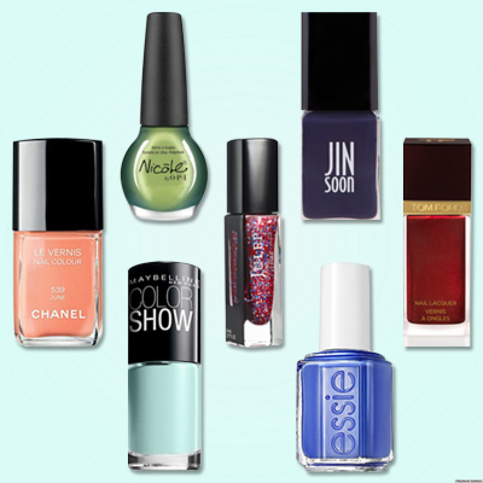 The must-have nail colors inspired by the spring runways.