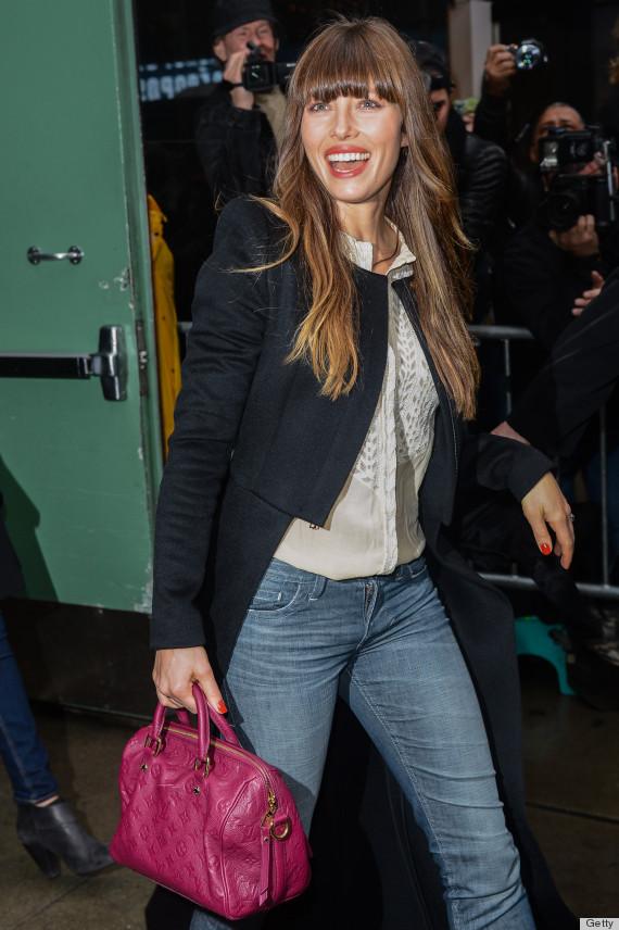 Sophia Bushs Bangs Are Just Like Jessica Biels So Lets Call It A